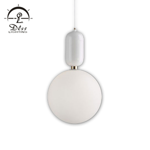 Hot Sales G9 Pendant Lamp Iron Glass Material Small Cute Ball Chandelier