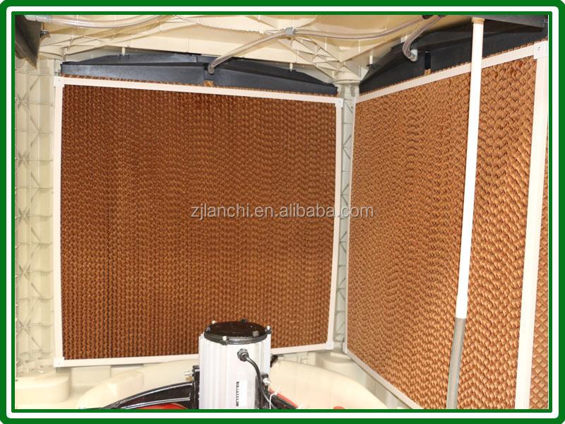 Lanchi 50000m3 H Large Airflow Honeycomb Air Cooler Roof