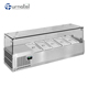 Electric Commercial Table-Top Buffet Deli Case Cold Bain Marie