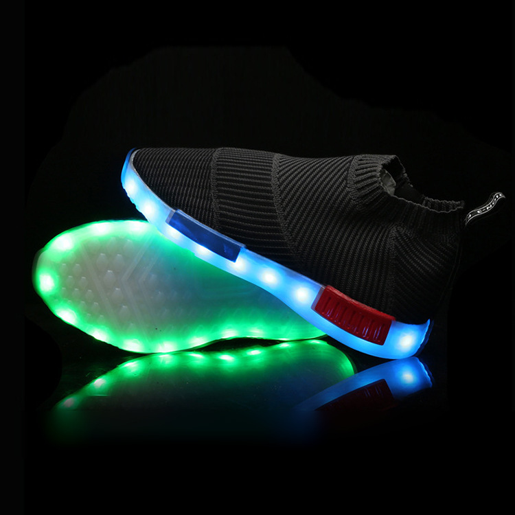 New USB charging Led Light up Shoes