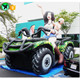 Advertising Off-road Inflatable Jeep Replica SUV Customized Car Inflatable With Beautiful Lady And Cute Baby A678