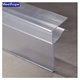 300022 Extruded Plastic Label Price Data Hold label Holder/Glass Shelf Data Strip Label Holder