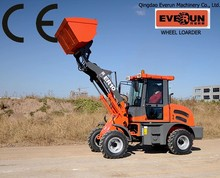 EVERUN China Floating Seal mini skid steer loader with digger