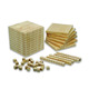 High quality montessori materials wooden maths educational toy base ten blocks