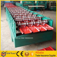 Good Quality color steel roof tile making machine price