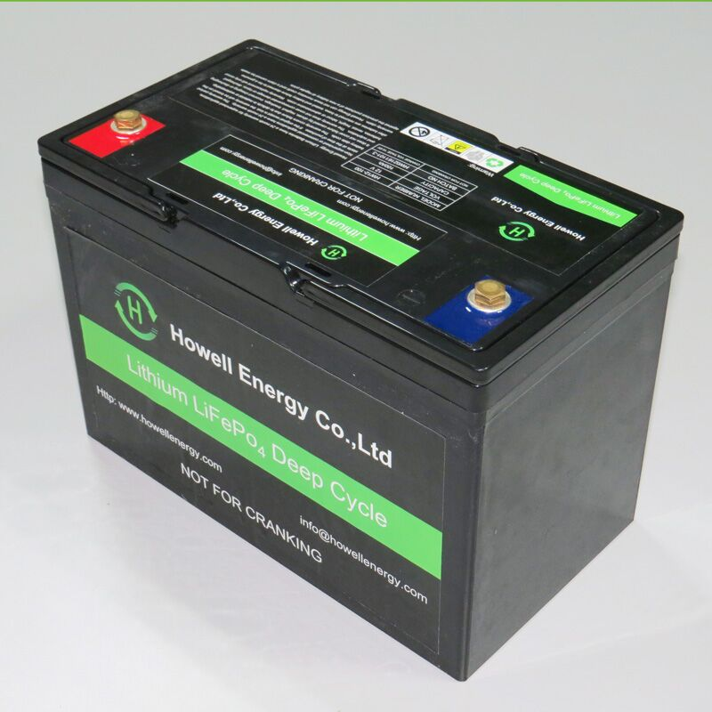 Rechargeable Lifepo4 12v 100ah Lithium ion battery for Ev and Solar street light