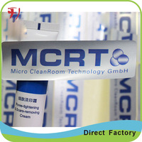 Aluminium metallic foil Good Quality Custom Printed Adhesive Return Address Label Stickers