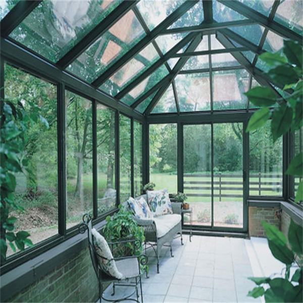 Chine aluminium verre v randa v randa en aluminium avec for Toit veranda en verre
