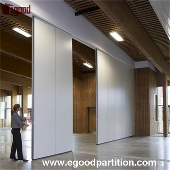 High acoustic Hufcor operable wall partition door with moving system & High Acoustic Hufcor Operable Wall Partition Door With Moving System ...