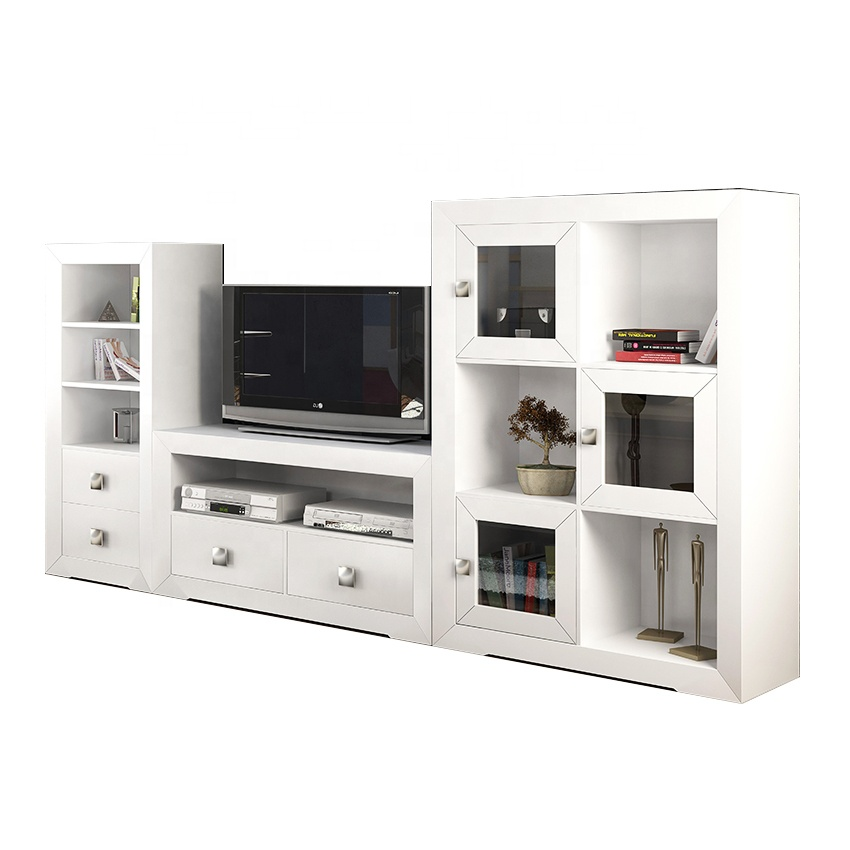 Tv Stand Designs In Plywood : Tv stand wall unit designs plywood materials led tv stand