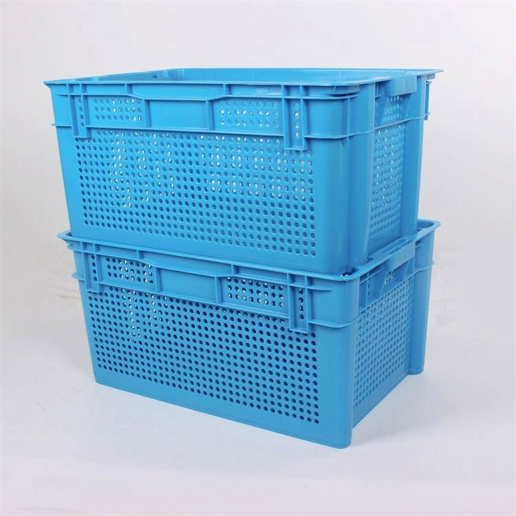 Plastic nestable box/turnover crate with cover/moving boxes small steel turnover box for storage