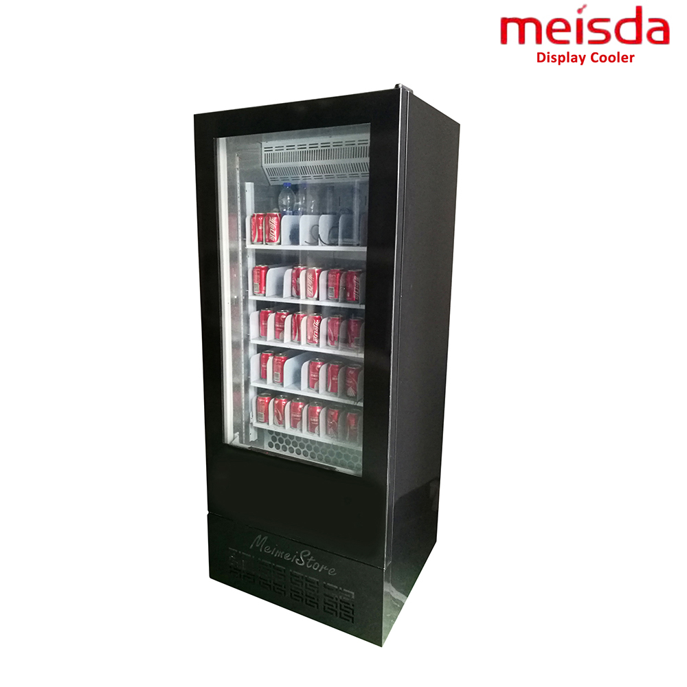 Manufacturer Upright Air Cooling Cold Beverage Display Refrigerator