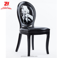 Used Dining Room Furniture For Sale Rental Wooden Chairs Black Ghost Chair ZJF69e