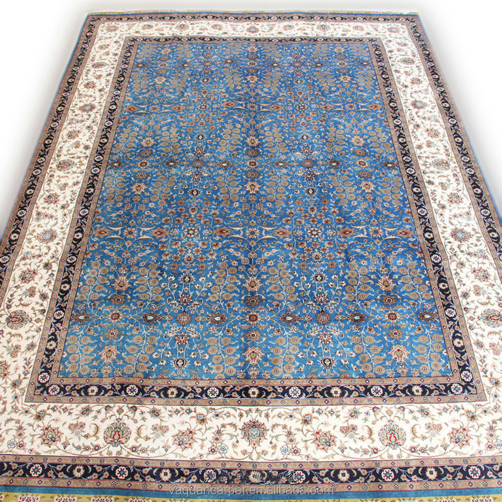 Hand Woven 100% Silk Carpet Handmade Carpet Tile and rugs persian art silk carpets for living room