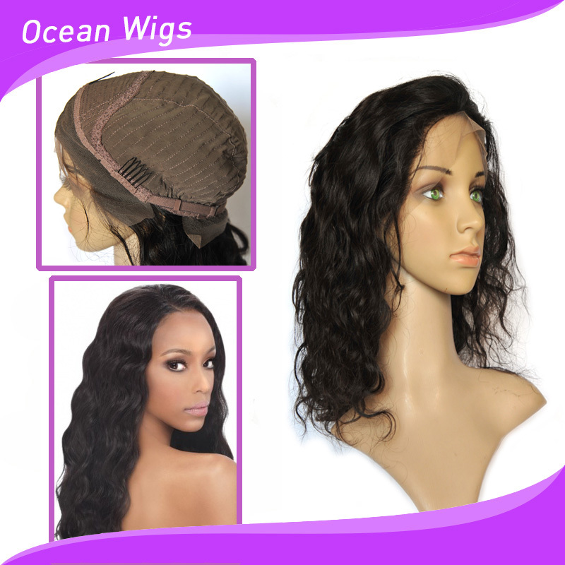 100% brazilian human hair full lace wig for black women,human hair full lace wig with baby hair
