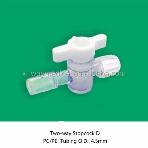 China Supplier 2-way Valve Adaptors,Medical Accessories Adapter 2 ...