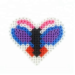 Most popular toys 5mm plastic diy fuse hama bead super 3d puzzle,YIRUN
