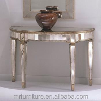 Vintage Stil Mirrored Möbel/diamant Konsole - Buy Mirrored Console ...