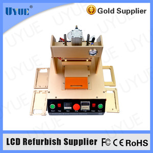 for Mobile Refurbish Kit Automatic Heating Bracket Pressusre Machine for LCD Repair Frame Laminating Machine