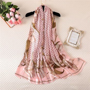 China Made satin scarf printed hijab ladies scarfs and stoles