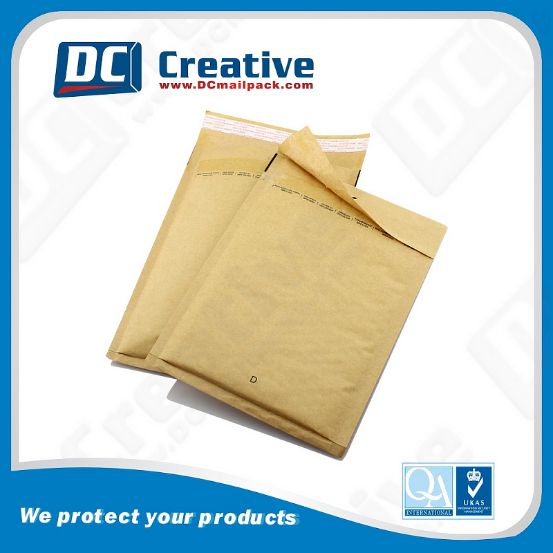Kraft cheap colored bubble envelopes padded mailers