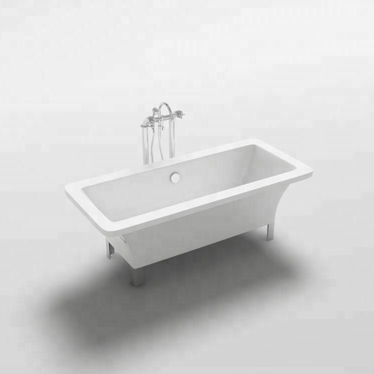 CUPC Goedkeuring wit Acryl bad teak badkuipen Arno Model moderne vrijstaande bad