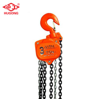 HUGONG Manual Chain Pulley Block Hand Hoist
