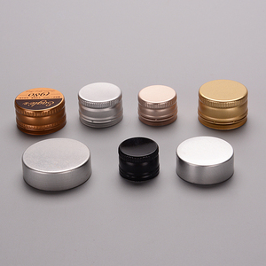 ROPP tamper proof cap covered edge aluminum cap for wine bottle