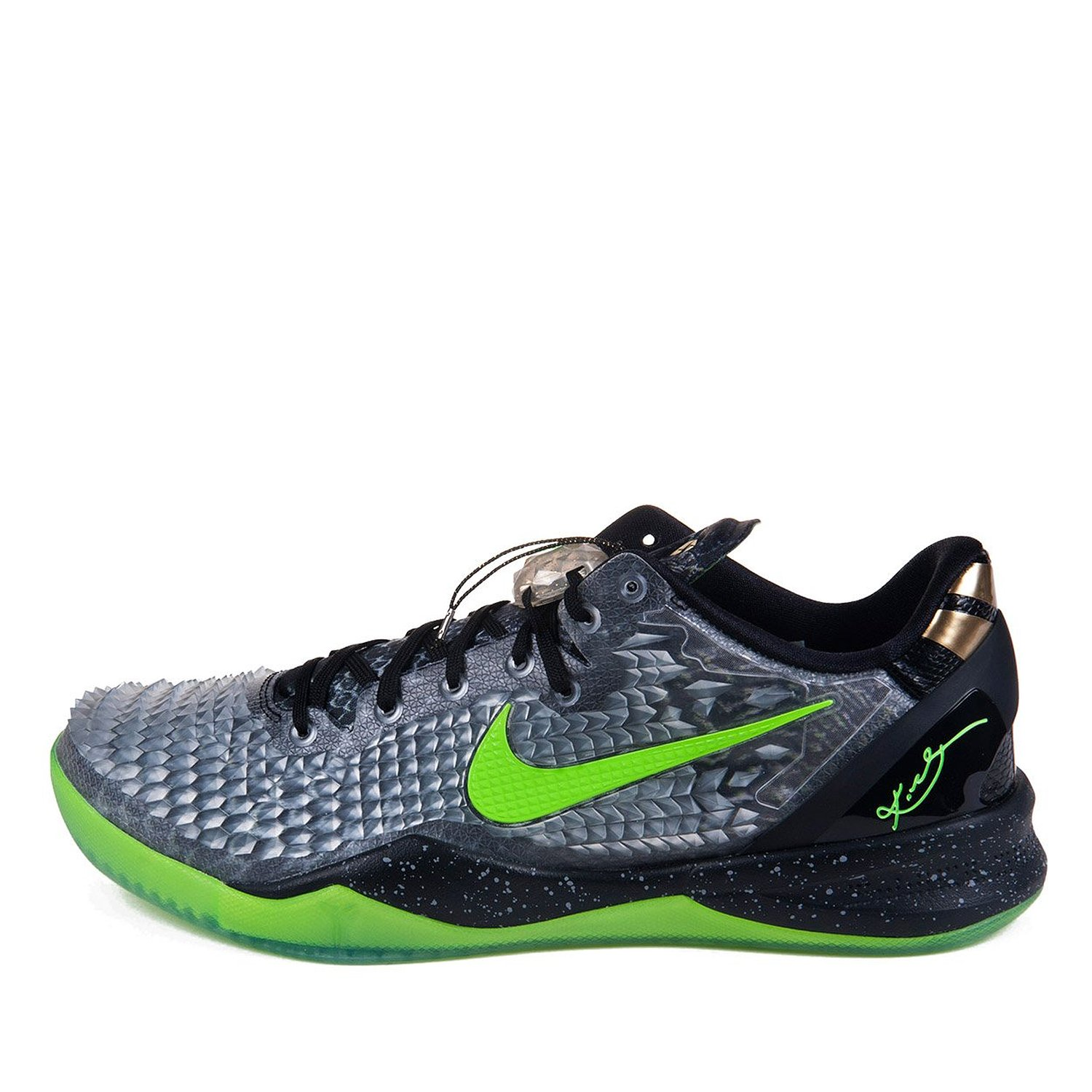 "Nike Mens Kobe 8 System SS ""Christmas"" Synthetic Basketball Shoes"