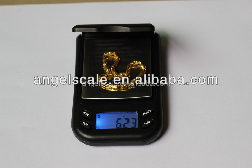 New 1kg 1000g x 0.1g mh series pocket scale