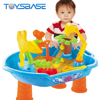 Sand And Water Activity Play Table Beach Toys For Funny