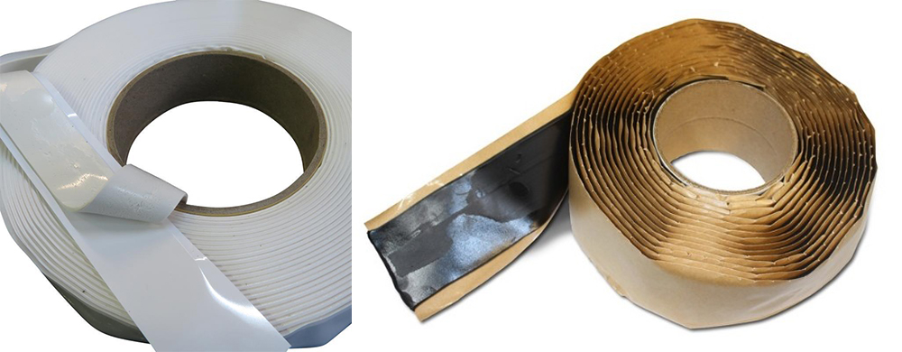 Hot Sale Factory Fire Retardant Strong Double Sided Adhesive Butyl Rubber Tape For Construction