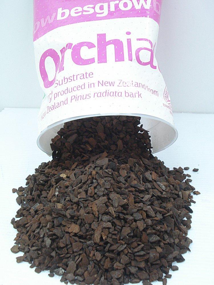 Sample Orchid Potting Media Orchiata Small Bark