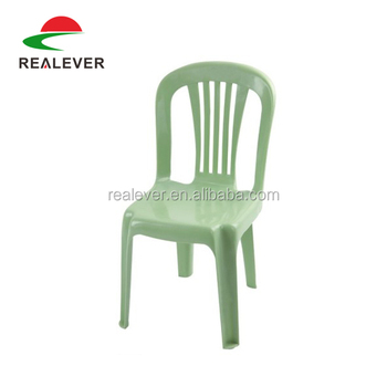 Factory Price High Back Kids Plastic Party Chairs Without Arms