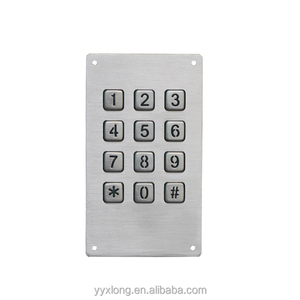 IP65 Industrial Keypad backlight keypad digital coded surface Access Control waterproof outdoor keypad