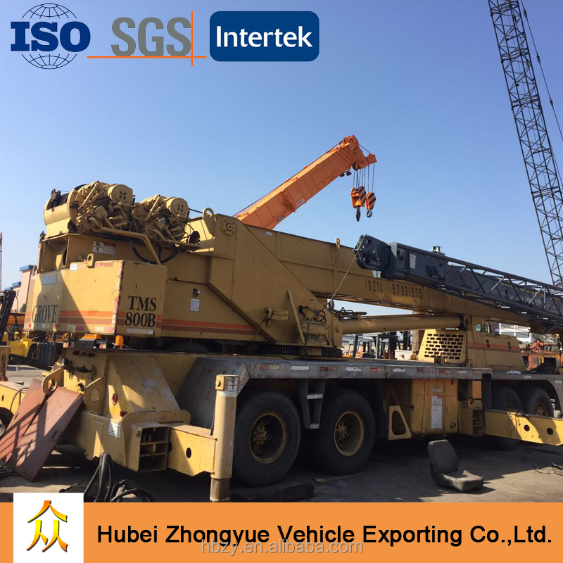 Good Price Germany Grove 70 ton Mobile Crane TMS800B for sale