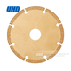 Coated plated cut pcd diamond saw blades