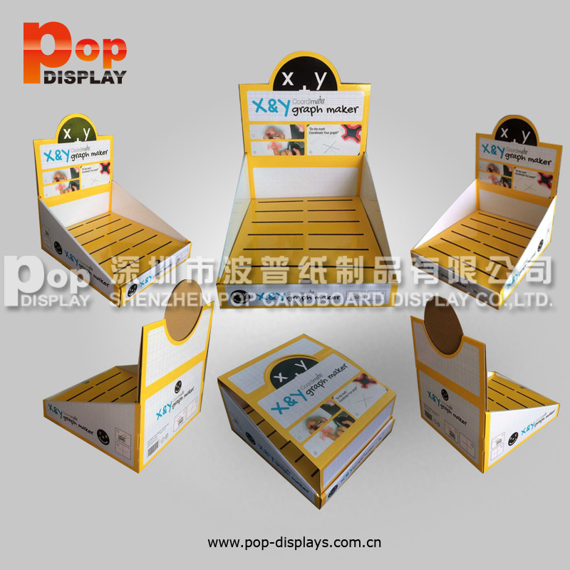 Cardboard Counter Top Display Boxes Toothbrush Holder