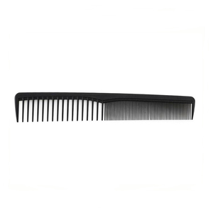 Professional hard carbon flat head antistatic hair brush salon styling tools hair comb