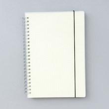 A6 A5 B5 блокнот со спиральными катушками, чтобы сделать лист, пустая сетка, бумажный дневник, блокнот для набросков для школы, канцелярские при...(Китай)