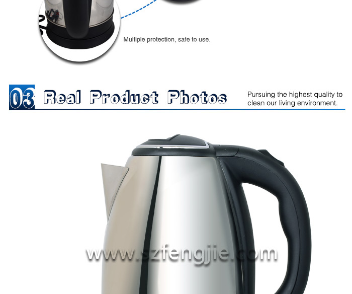 2014 professional Stainless Steel keep warm Electric kettle