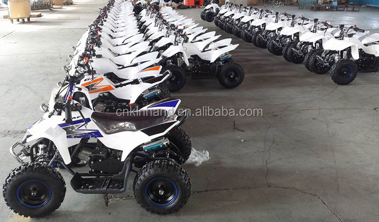 Factory Outlets 2 Stroke 49cc 4-wheel Mini ATV For Kids