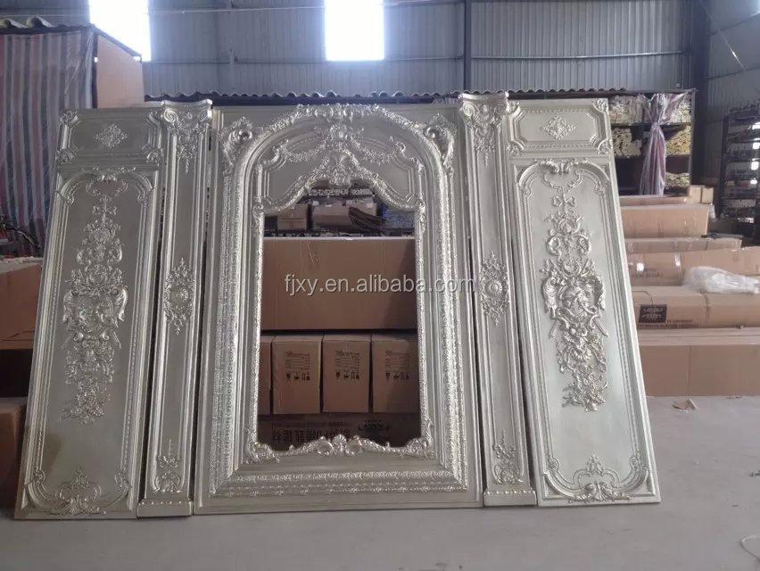 Pu Stereo Ornaments Panel Mouldings Polyurethane Foam