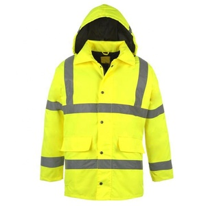 Keep warm uniform winter work wear safety reflective workwear