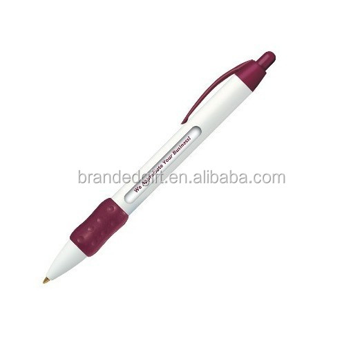 Advertising Rotating Message Pen Promotional Window Ballpoint Pen