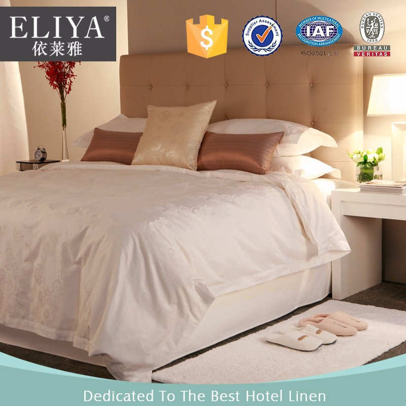 Hot Selling 100 Cotton Stripe Hotel Bed Sheet Set Bed