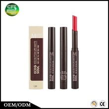 OEM Cosmetic Makeup 6 color waterproof matte lipstick private label