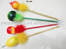 promotional plastic fruit gift ball pen