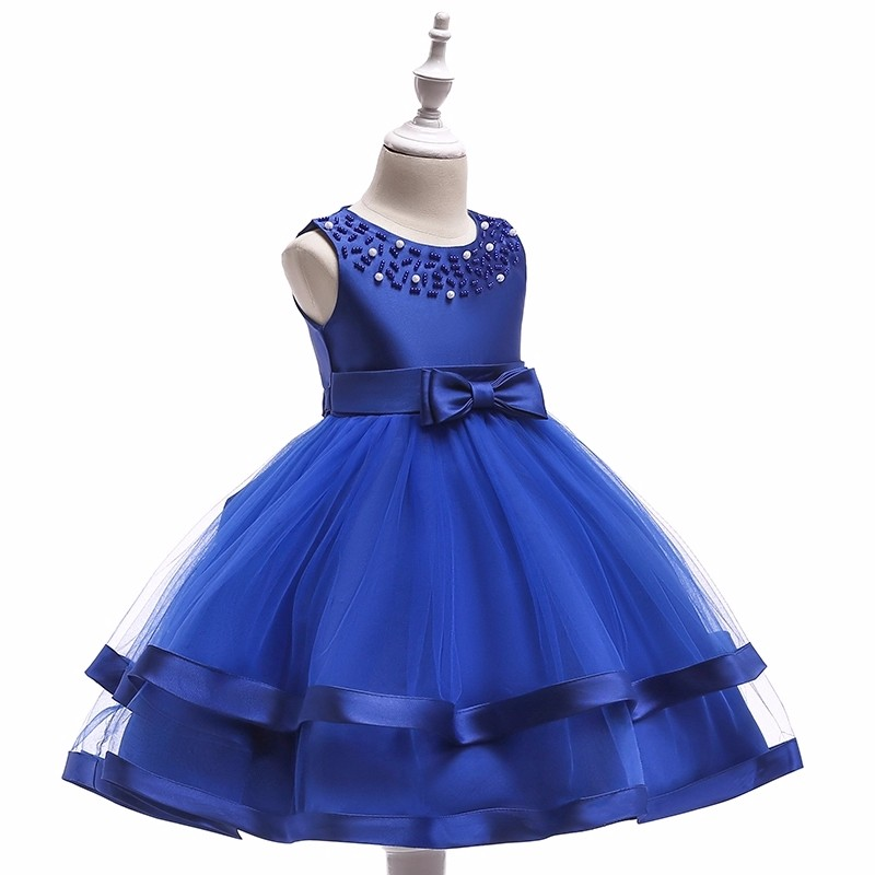 7df4f533a Baby Frock Design Latest Fashion Party Frock Beautiful Red Color Flower  Girl Dress For Wedding