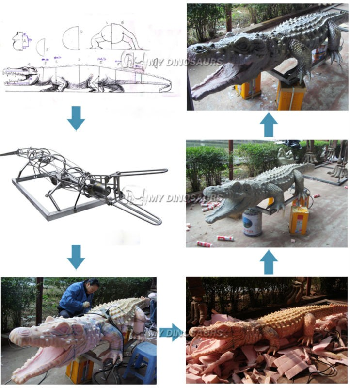 MY Dino-C010 Outdoor Playground Animated Artificial Insects For Sale